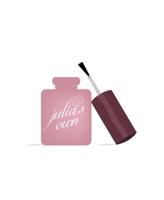Logo Design for Manicurist Julia\'s Own. Designed by http://www ...