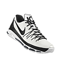 on sale e440c 8ac8b ... reduced nike kd 8 id mens basketball shoe black white fa0ea 469c0