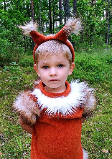 Squirrel boy costume/ Kids squirrel Costume/squirrel dress up ...