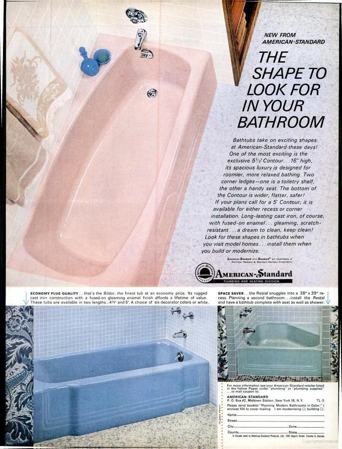Life Google Books American Standard American Standard Bathtubs Mid Century Bathroom