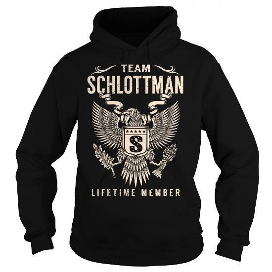 Awesome Tee Team SCHLOTTMAN Lifetime Member - Last Name, Surname T-Shirt T-Shirts