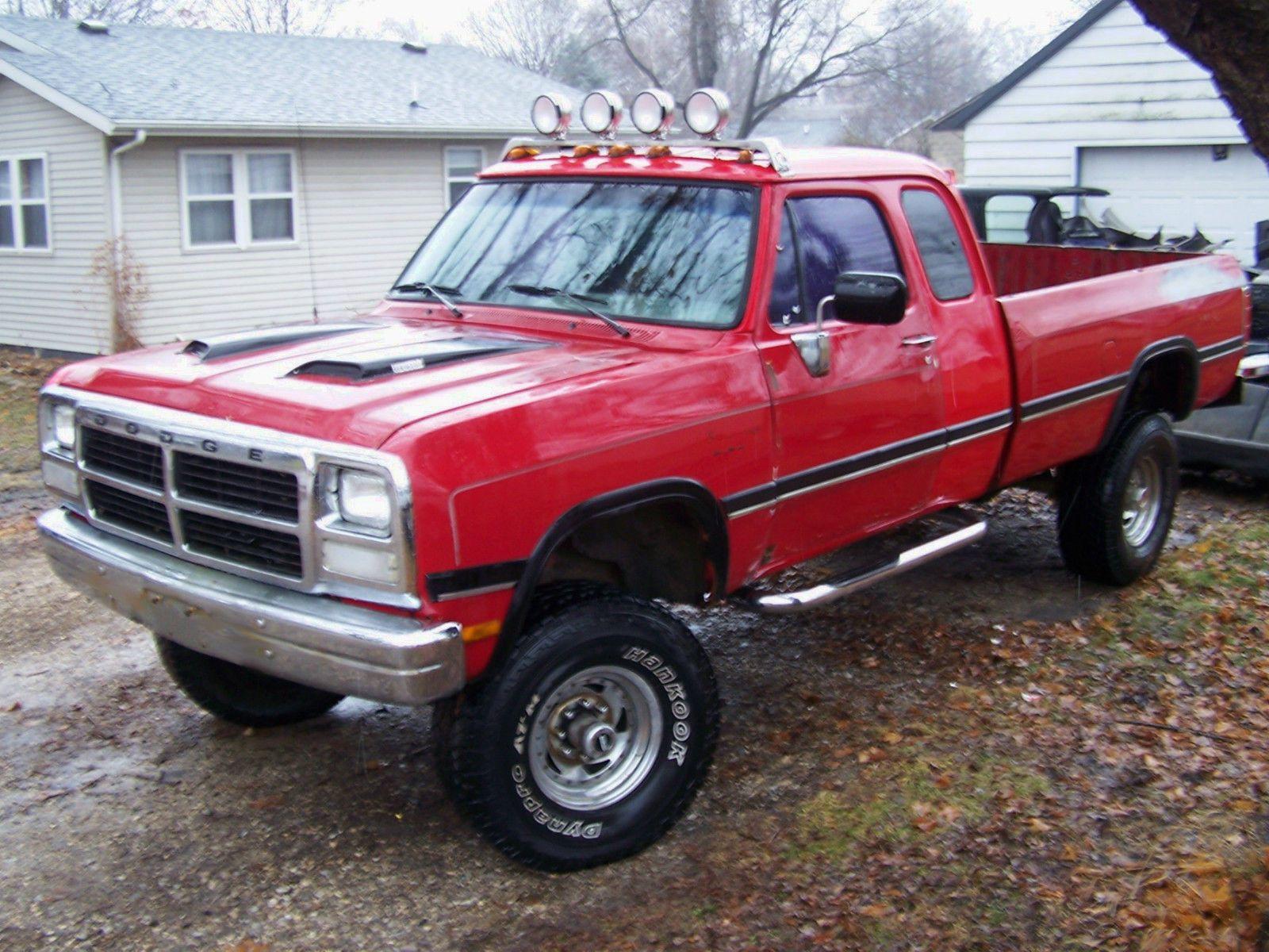 1992 Cummins Dodge Ram W250 4x4 1st gen 12 Valve Turbo Diesel