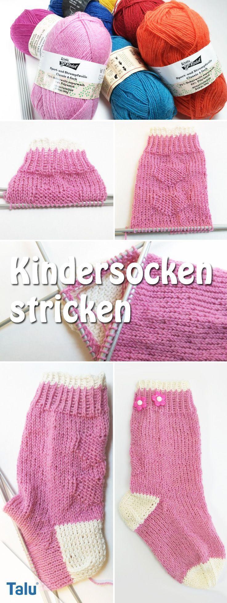 Photo of Stricken Sie Kindersocken – kostenlose Anleitung für Muster und Größen, # Anl…