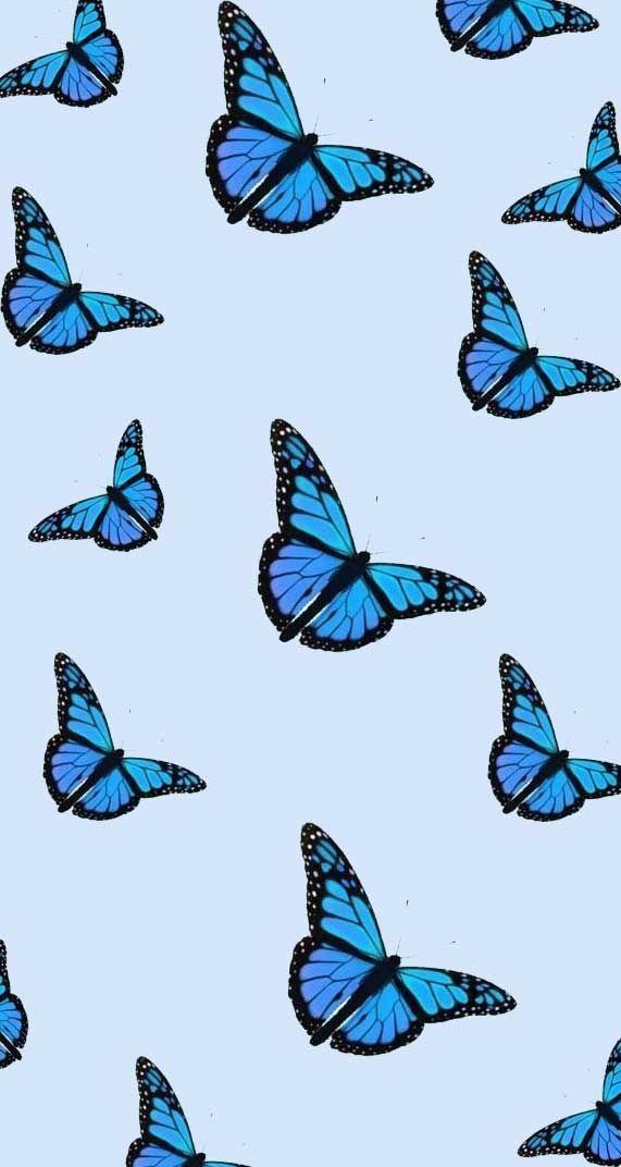 Fjeder Iphone Tapet Sommerfugl Tegning Iphone Tapet In 2020 Butterfly Wallpaper Iphone Iphone Wallpaper Vintage Desktop Wallpaper Art