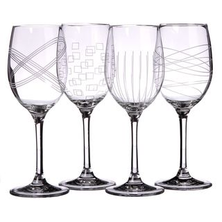Royal Doulton Party Wine Glasses (Set of 4)   Overstock.com Shopping - Great Deals on Royal Doulton Wine Glasses
