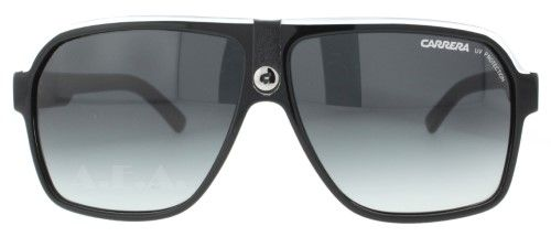 ff22fc13234a Carrera 33/S Aviator Sunglasses,Black Crystal Grey Frame/Dark Grey Gradient  Lens,one size