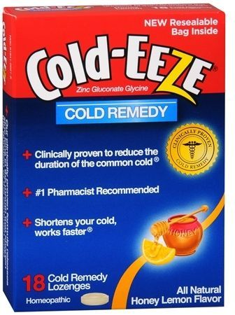 Cold Eeze Cold Remedy Lozenges Honey Lemon Products
