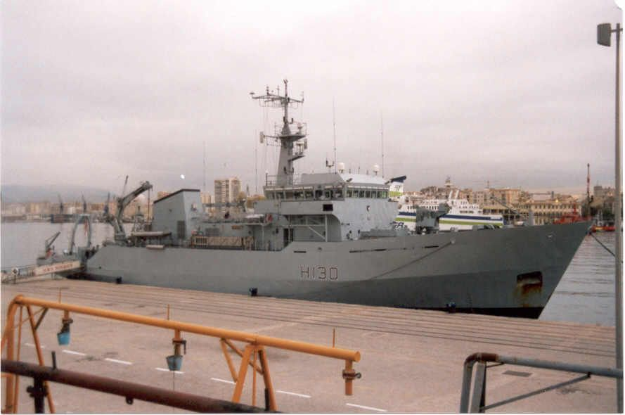 H-130 Roebuck   País: Reino Unido Reino Unido  Clase, [Tipo]: Roebuck, [AGS].  Constructor: Brooke Marine, Lowestoft, Reino Unido.