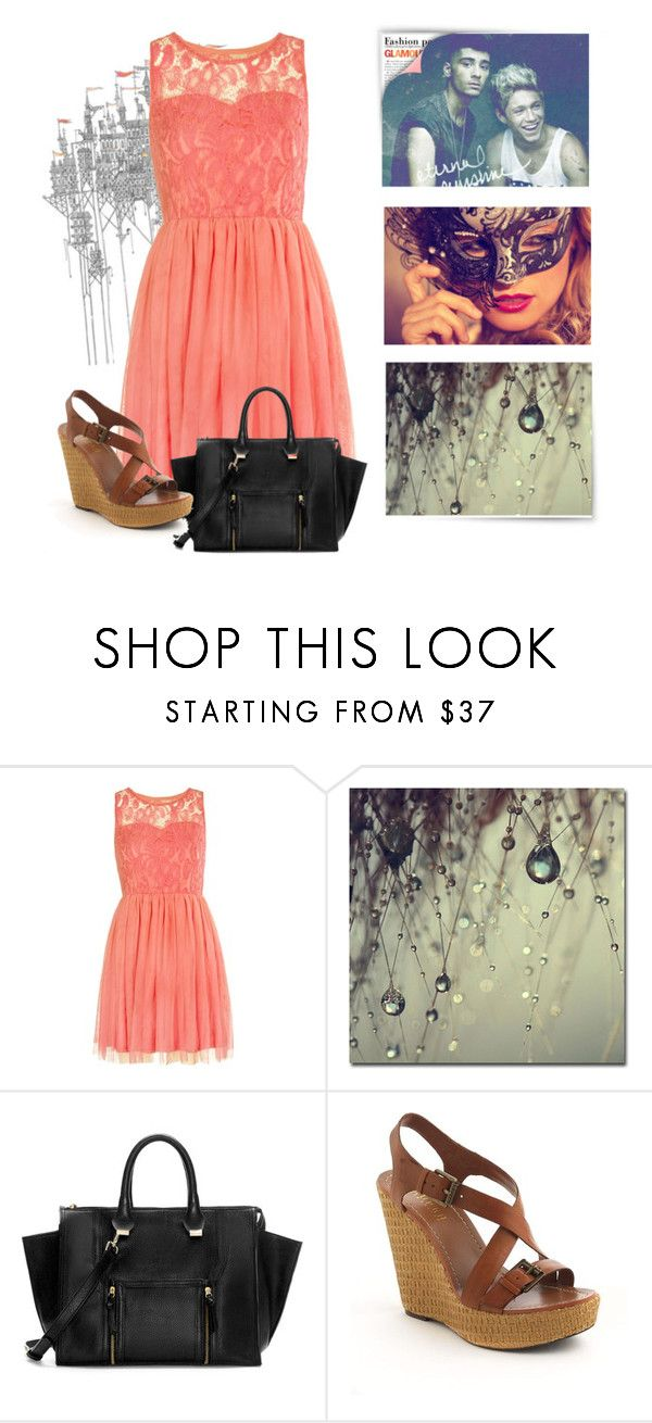 """""""*-*"""" by ynevieira ❤ liked on Polyvore featuring Masquerade, Zara and Lauren Ralph Lauren"""