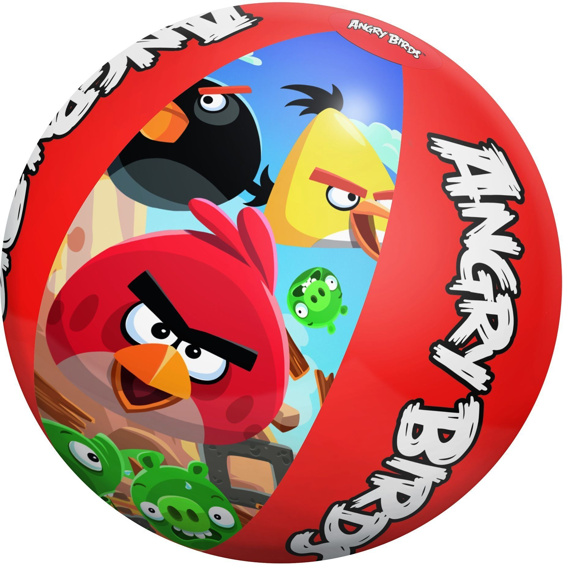 """Angry Birds Inflatable 20"""" Beach Ball. Bright Colorful"""