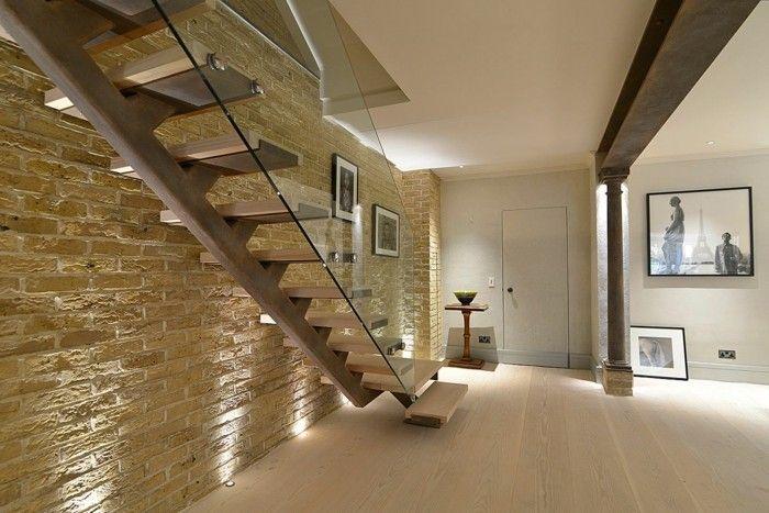 Escalier En Verre Design #0 - Lescalier Moderne En 110 Photos ...