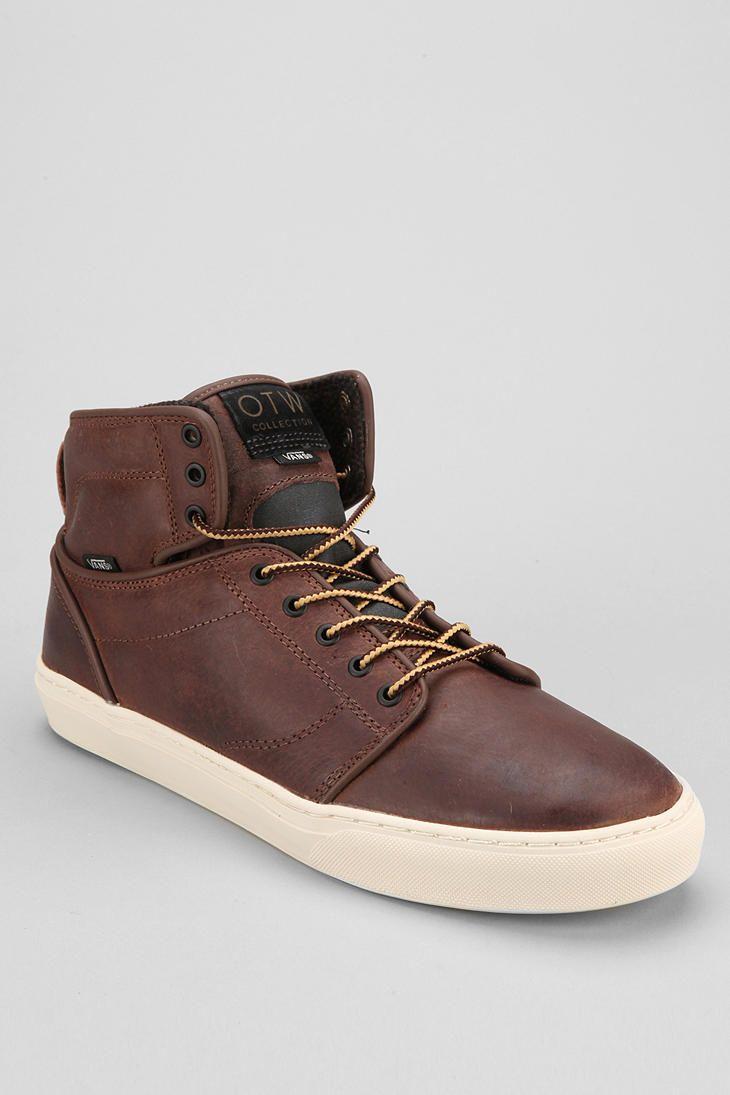 c52093550c7a21 OTW By Vans Alomar High-Top Men s Leather Sneaker