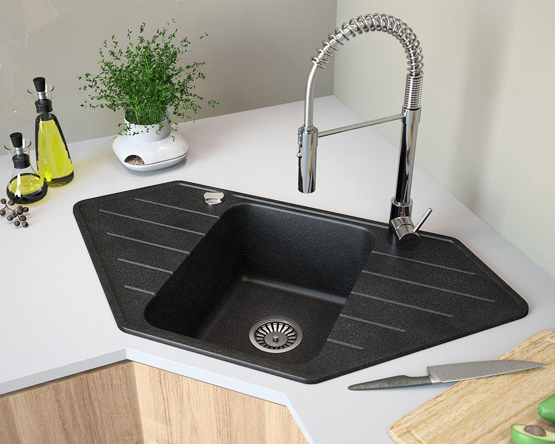 Premium Quality Composite Kitchen Sinks Lavello Sinks Single