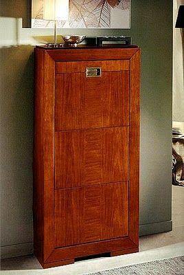 Muebles pr cticos por la decoradora experta zapateros para el pasillo mueble zapatero para - Mueble pasillo estrecho ...