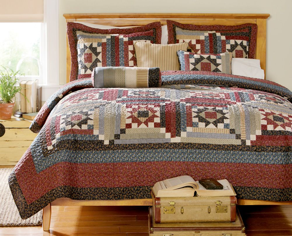 Country Patchwork Quilt Bedding Country Patchwork Quilt