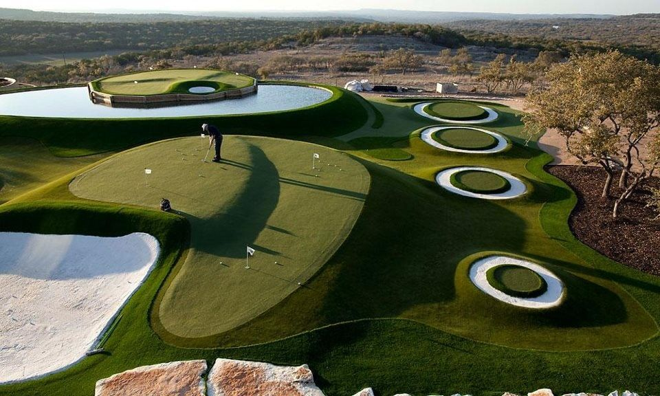 Amazing Golf Course - They showed some of them in the recent Golf Magazine. IT IS AMAZING. I wish I had the 17th at Sawgrass or The Road Hole in my backyard...