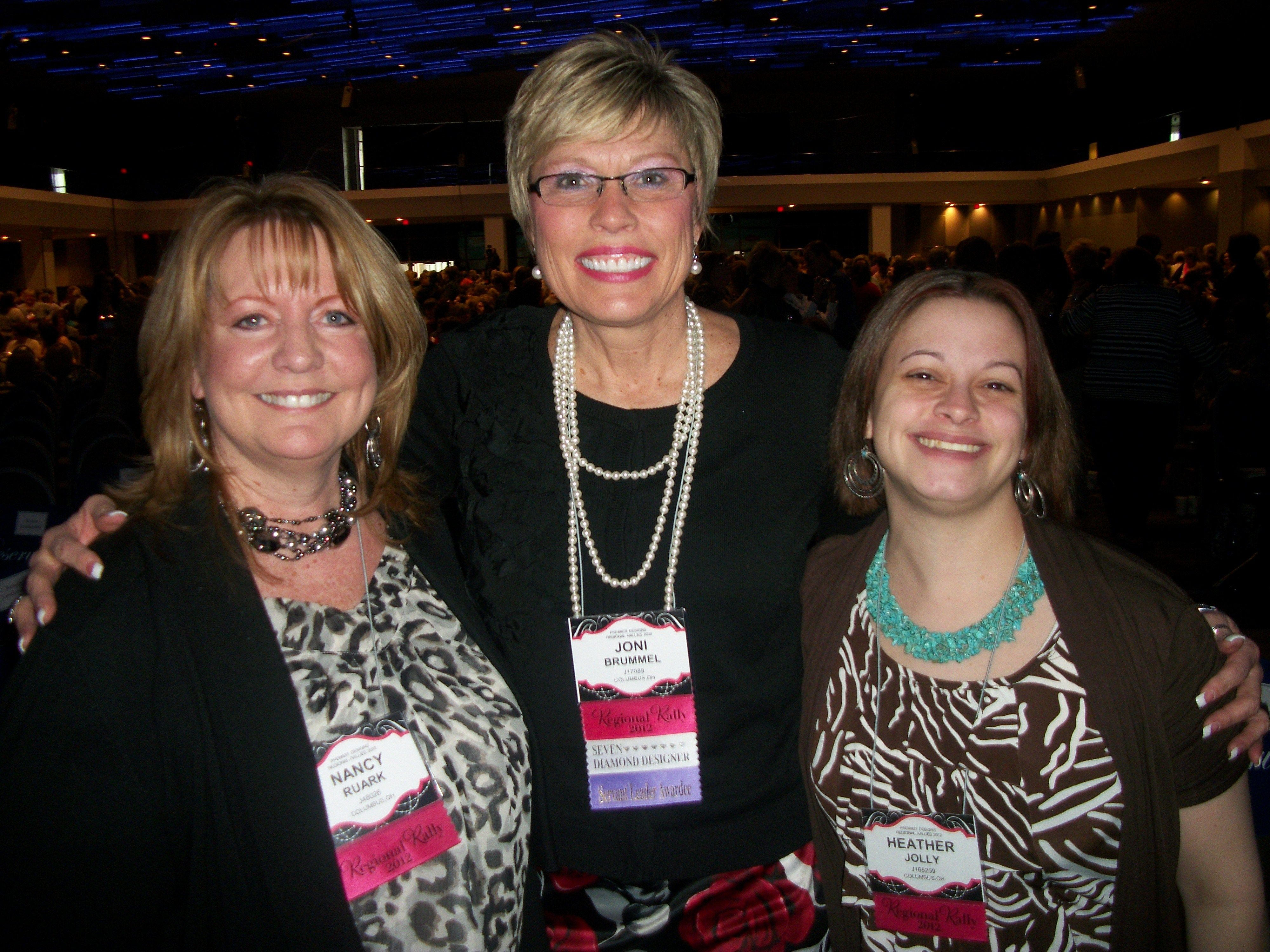 Me with my Premier Mom and Joni Brummel
