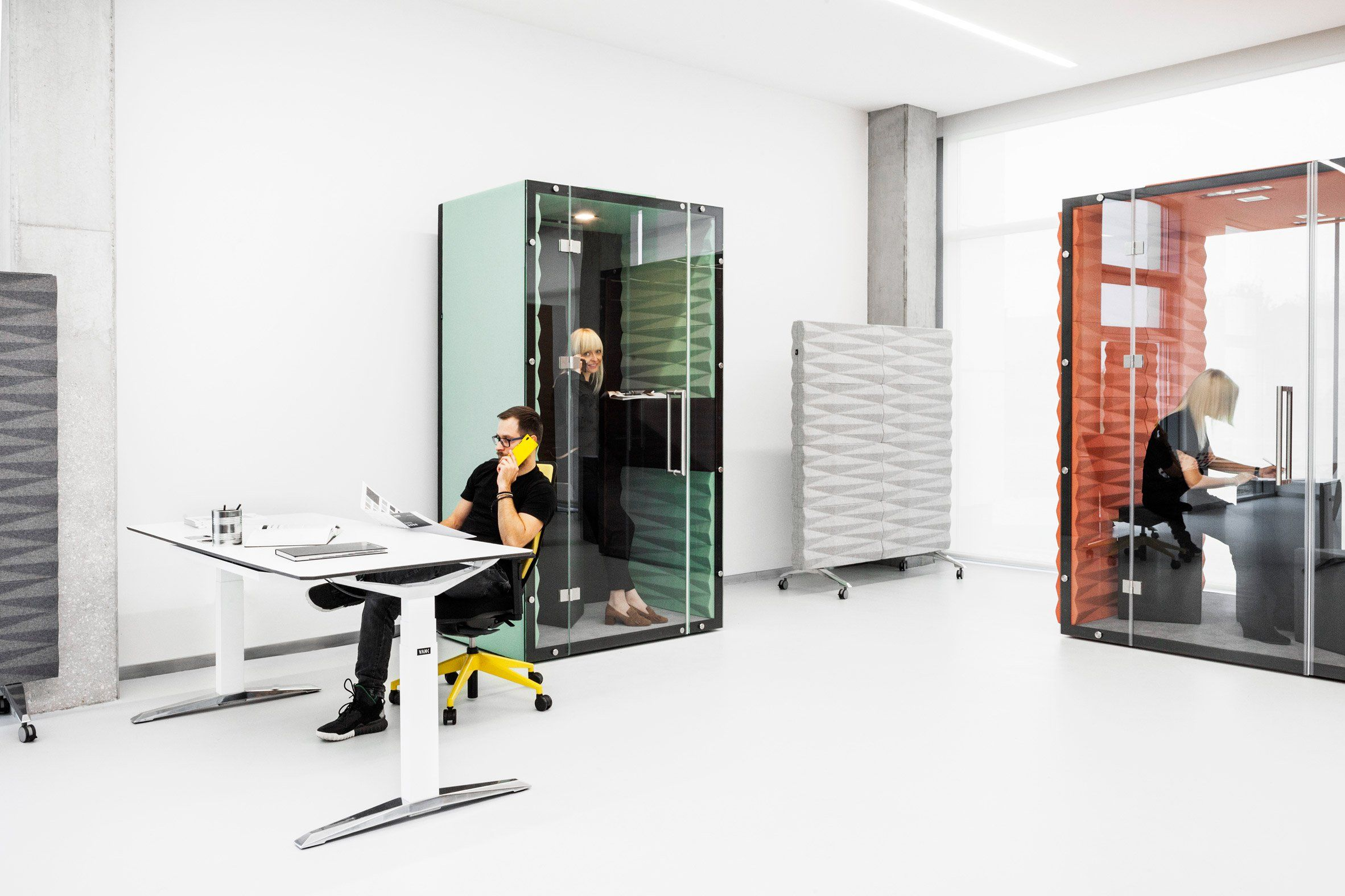 Vank\'s soundproof pods offer private workspaces for open-plan ...
