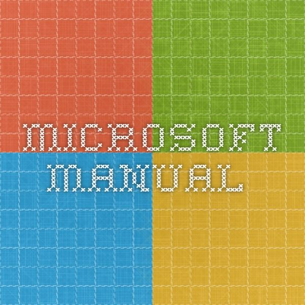 Microsofta Manual Of Style For Technical Publications Second Edition Story Lab Manual Microsoft