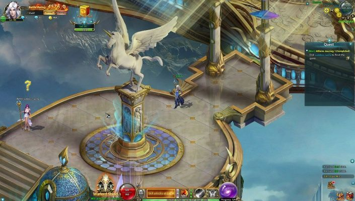 Omega Zodiac is a Free 2 play, Browser-Based BB, Role-Playing MMO Game featuring a blend of Greek and Norse mythologies.