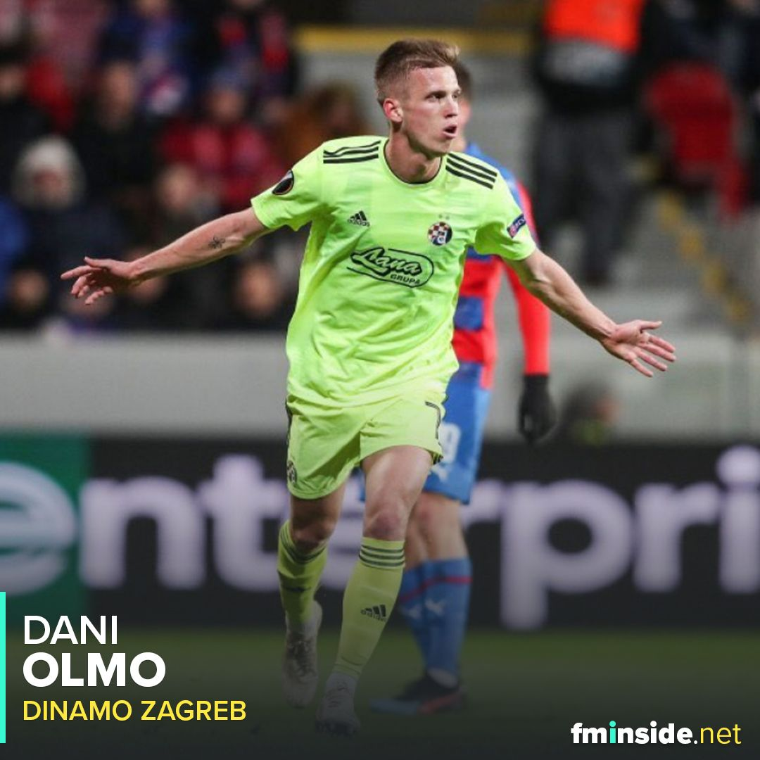 Dani Olmo Fm20 One To Watch