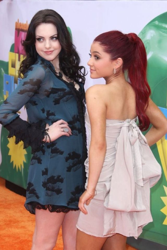 Ariana grande and Liz gillies