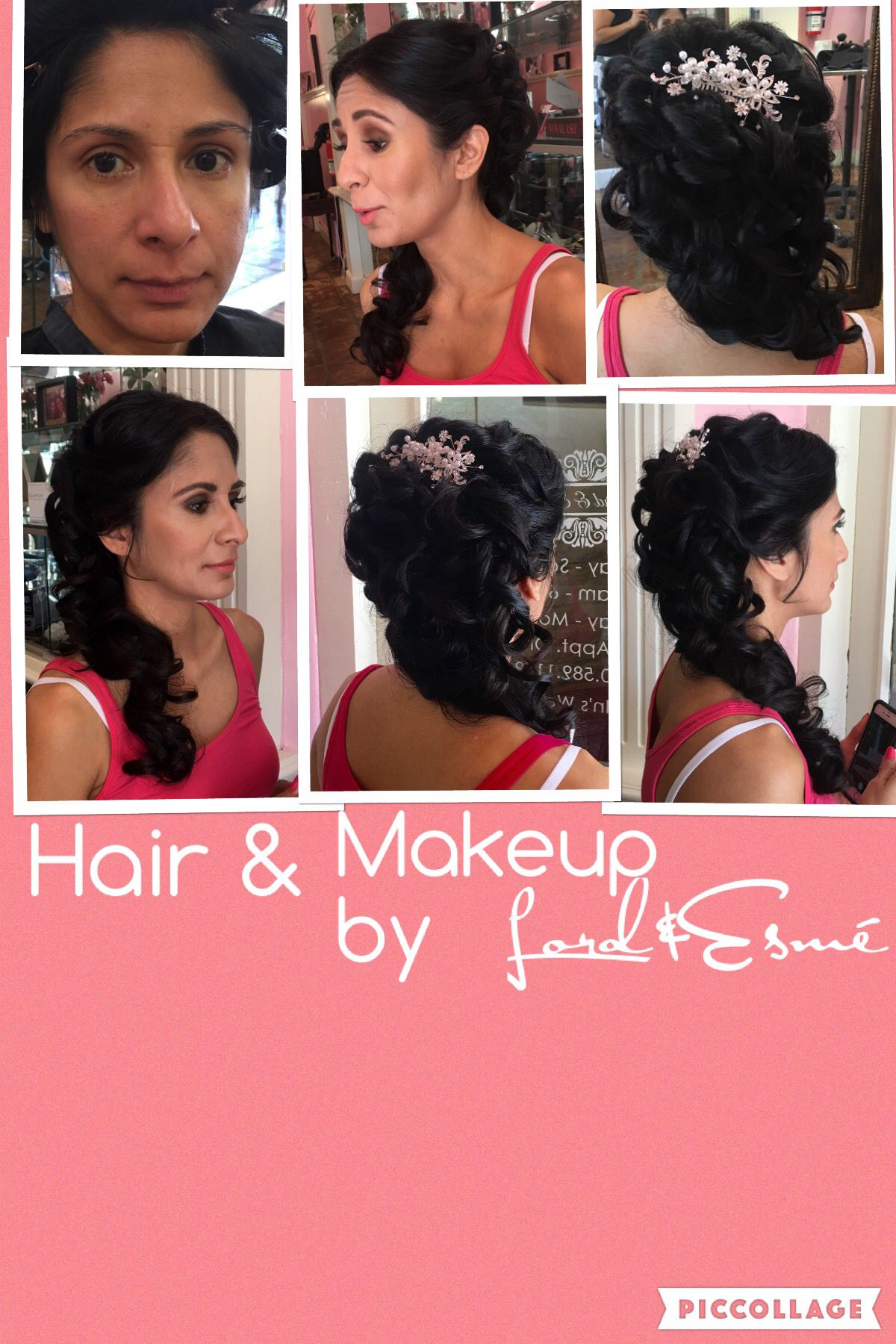 Before And After Bridal Hair Makeup By Lordandesmé We Have