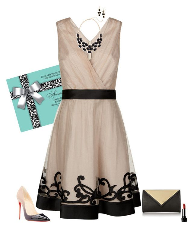 """""""Wedding guest"""" by julietajj on Polyvore featuring moda, Kaliko, Christian Louboutin, Givenchy, BP. y Kenneth Cole"""