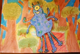 Monsters Don T Eat Broccoli Art Lesson Plans Art Activities For Kids Art Activities
