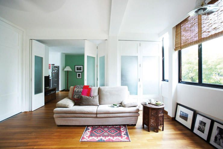 Black Window Frame White Walls Home Decor Home Flat Decor