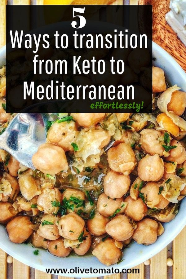 How to Switch from a Keto Diet to an Authentic Mediterranean Diet | Olive Tomato
