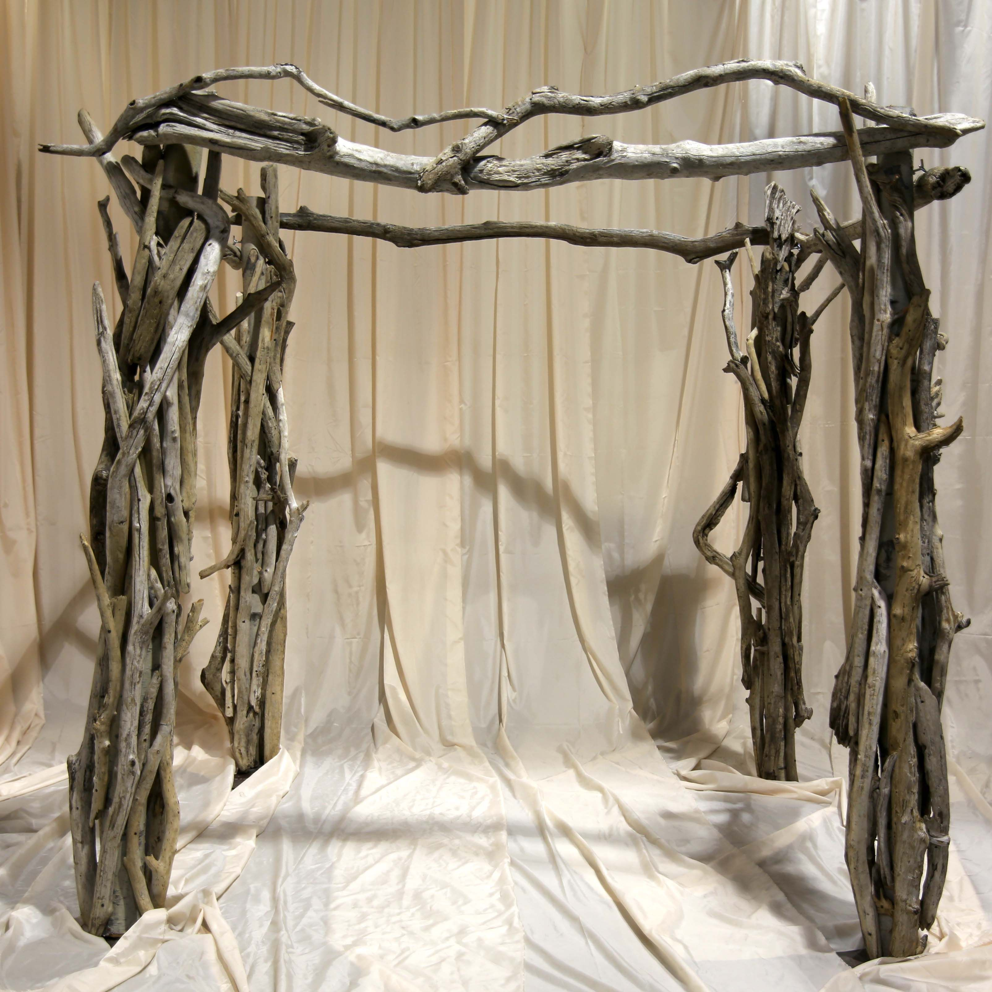 wedding ceremony new york city%0A Driftwood Ceremony Arch  currently available throughout NJ  NYC  u     CT from  Couture Event Rentals