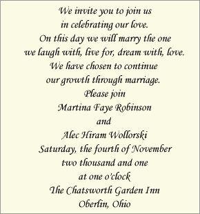 Contemporary Invitation Wording Bride And Groom Host Wedding Invitations Unique