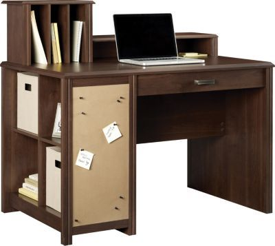 staples has the ameriwood carson cube desk w low hutch resort rh pinterest com