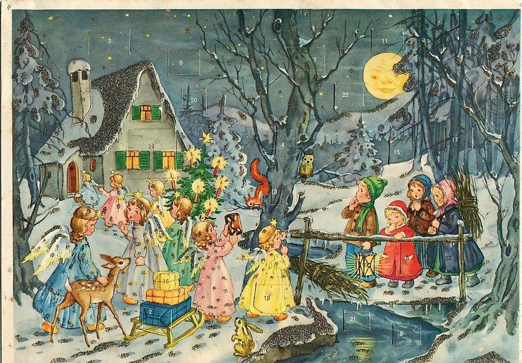 german advent calendar kruger christmas adventkalender. Black Bedroom Furniture Sets. Home Design Ideas
