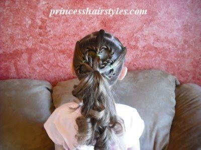 clover hairdo