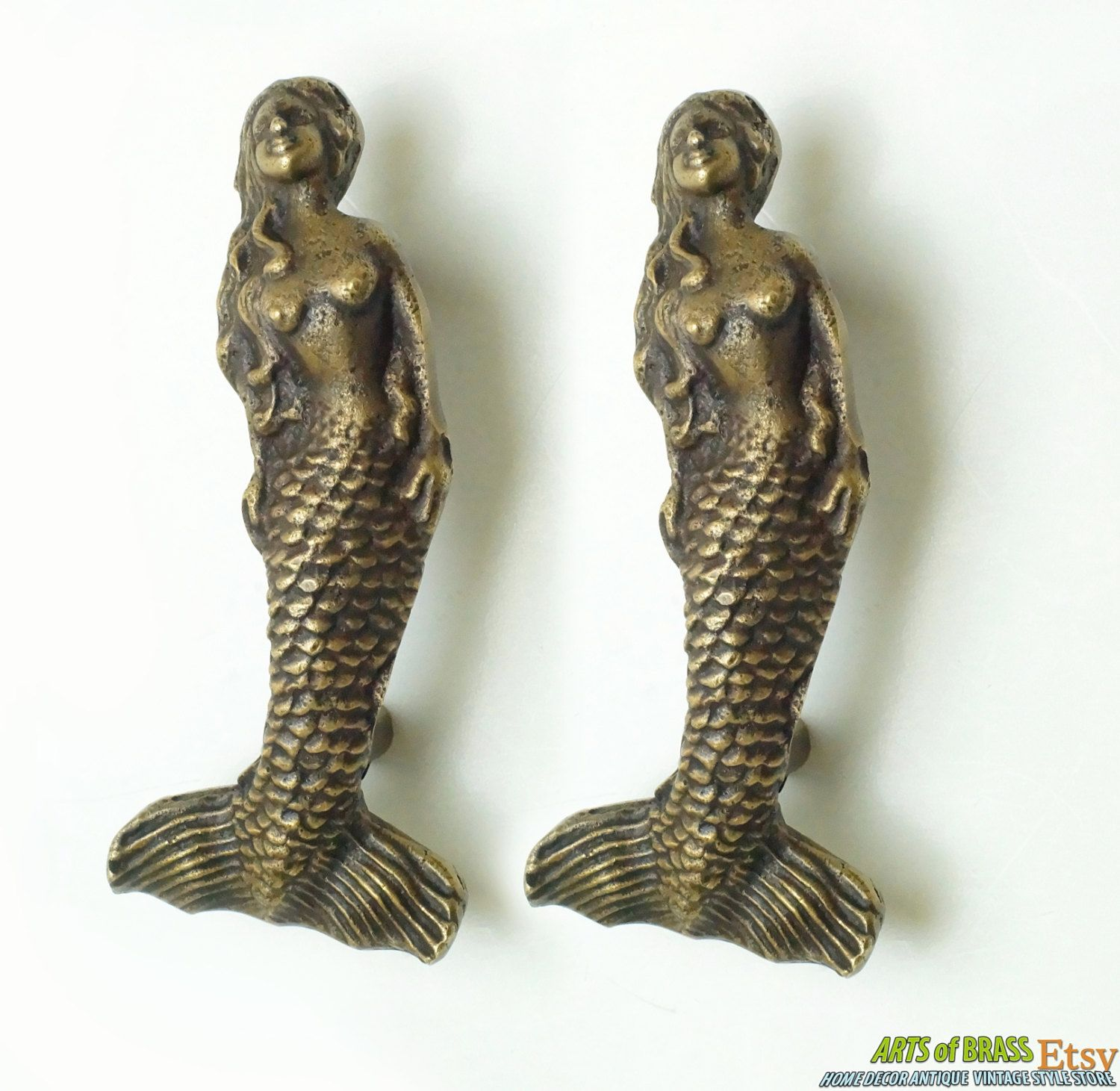 products collectors drawer indigo love drawers pulls mermaid of set