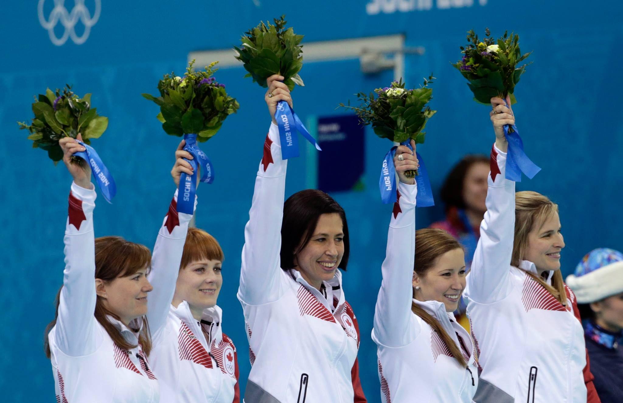 Gold Medal For Team Canada Female Curling Team Jennifer