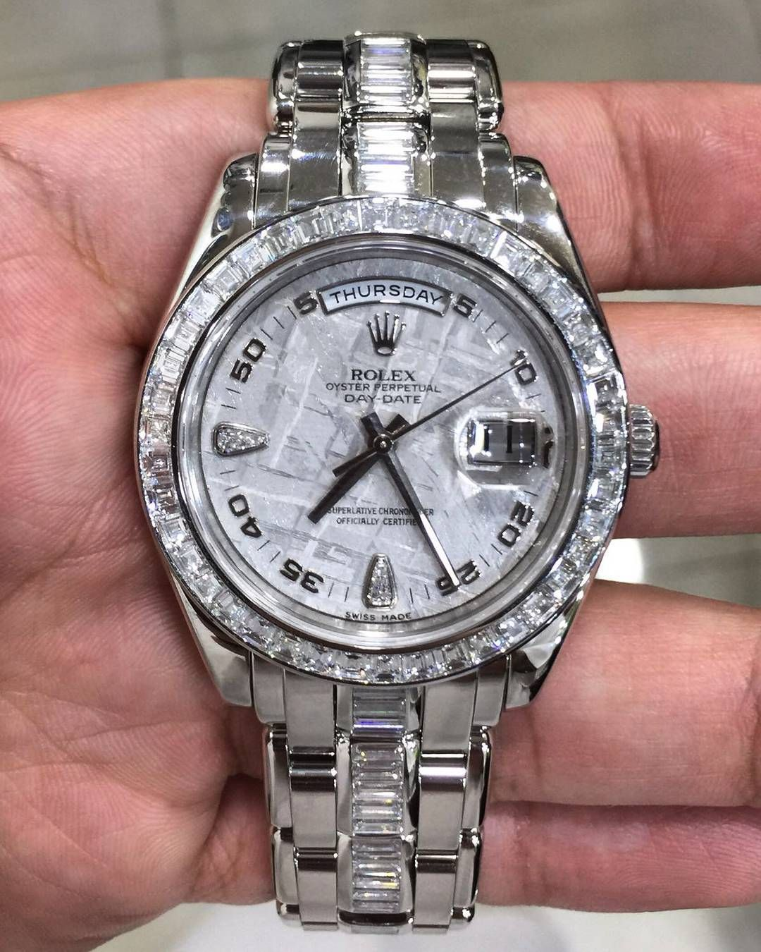 Edition Platinum: FS: Rolex Day-Date Pearlmaster Masterpiece Special Edition