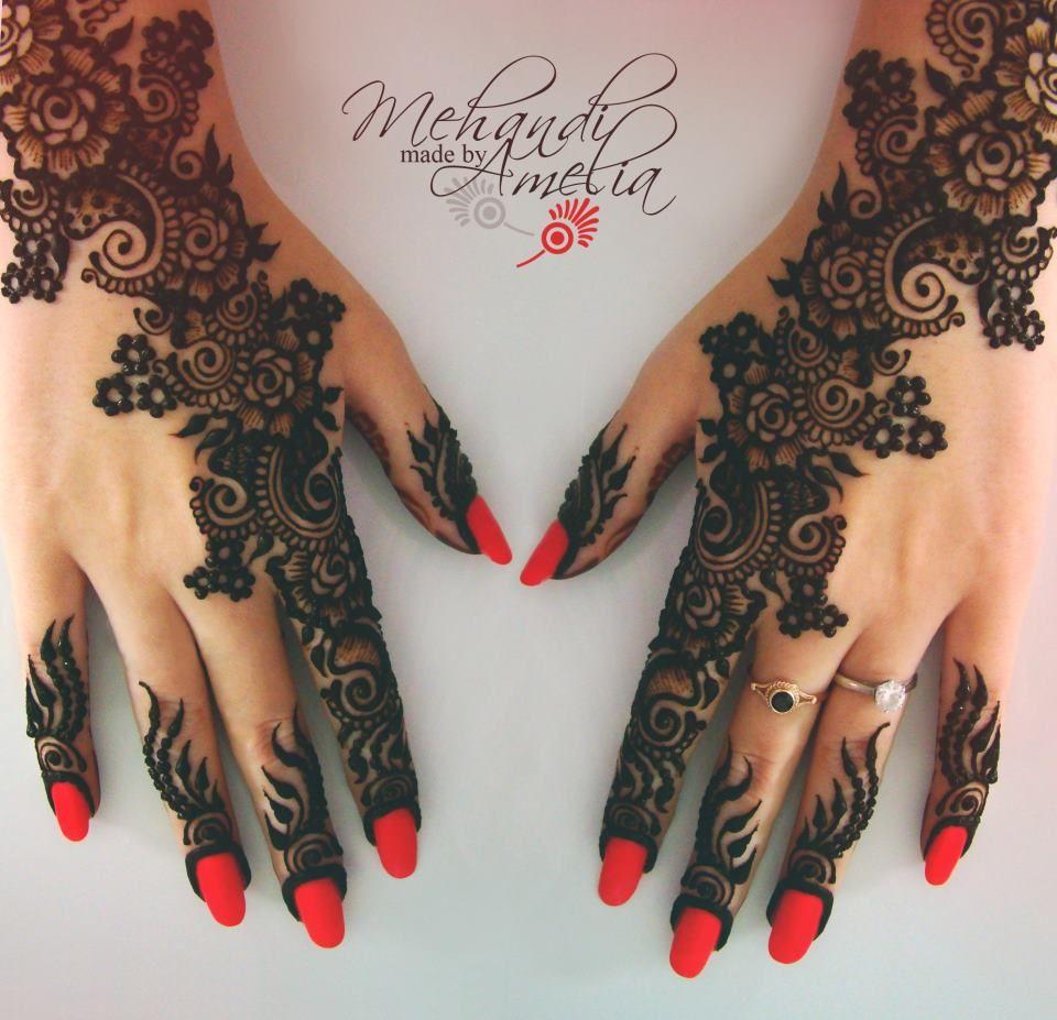 Bridal Mehndi 2013 - Beautiful mehndi designs for girls