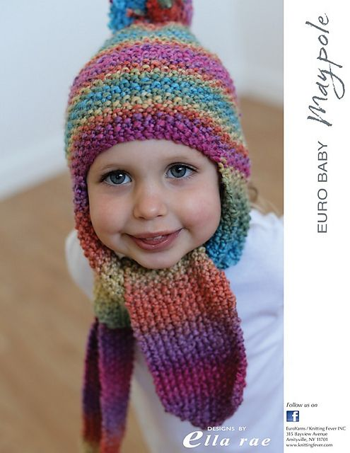 Beanie With Scarf Pattern By Ella Rae Baby Hats Knitting