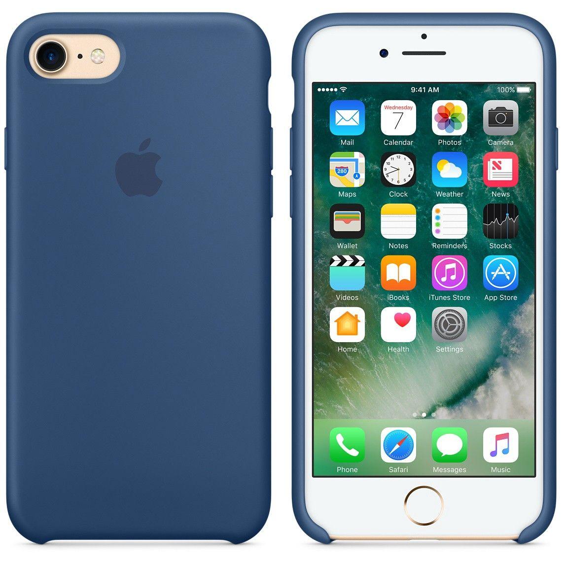 comprare popolare d3553 0fd16 Cover originale Apple in silicone per iPhone 7   Recensioni ...