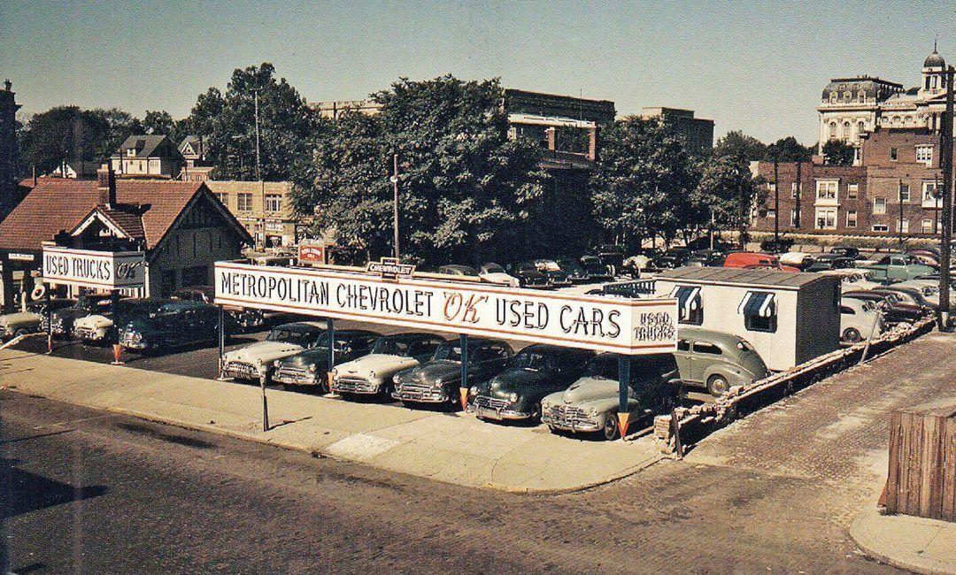 Springfield Illinois 1950s Metropolitan Chevrolet