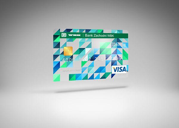 Credit Cards For Wbk Bank On Behance Credit Card Design Card Design Best Credit Cards