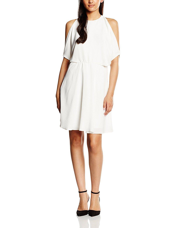 Fat Face Damen Kleid Connie Stripe, Off-White (Elfenbeinfarben), 32 ...