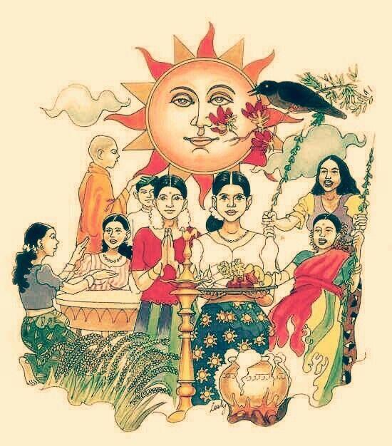Wishing Every One A Happy New Year Hindu New Year Sinhala New Year Wishes Tamil New Year Greetings