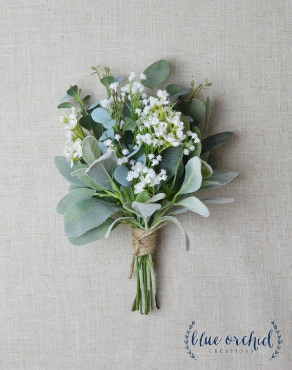 Photo of Bridesmaid Bouquet, Wedding Flowers, Silk Bridesmaid Bouquet, Bridesmaid Bouquets, Artificial Bouquet, Wedding Bouquet, Greenery Bouquet