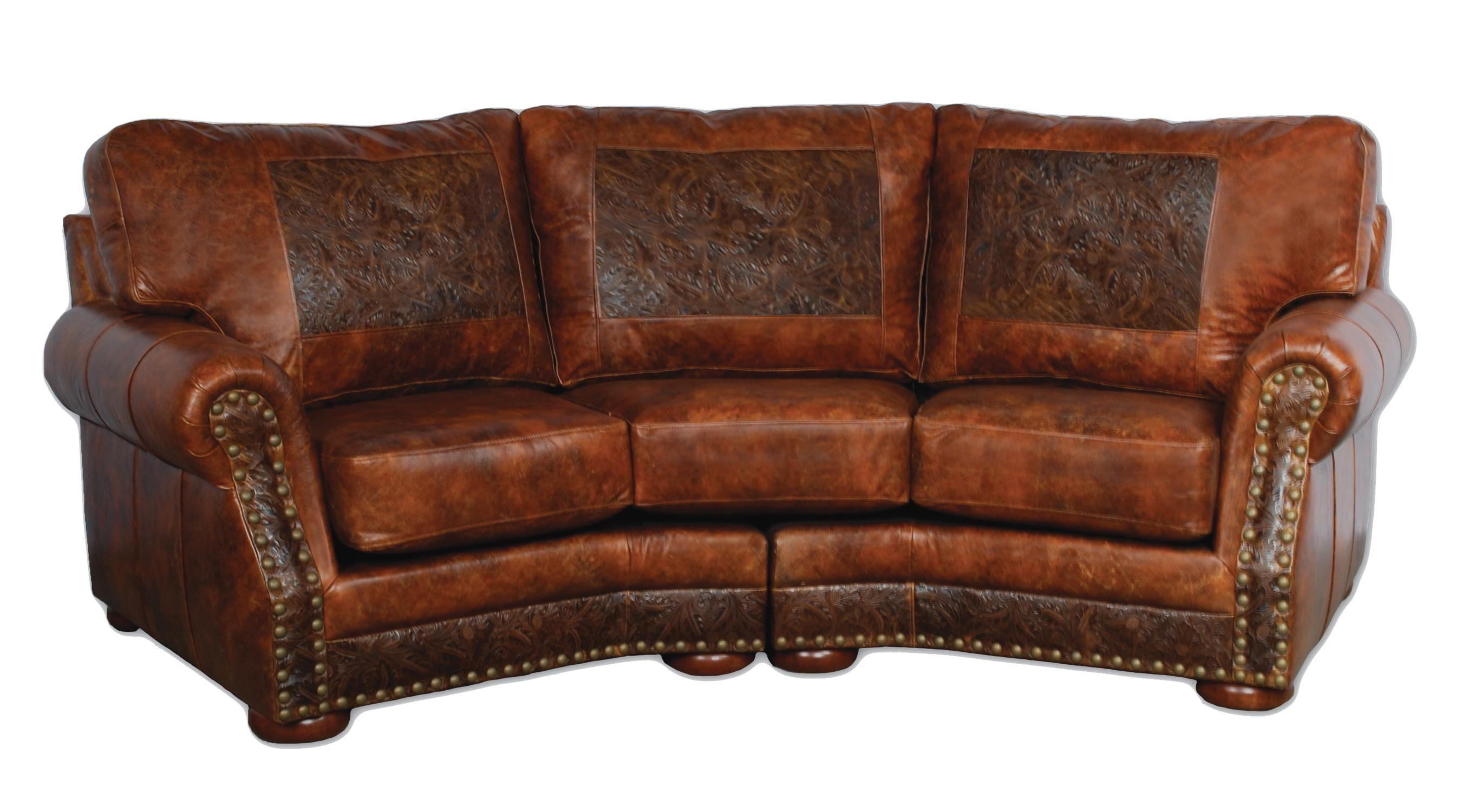 Modern Living Room Design Ideas With Distressed Leather ...