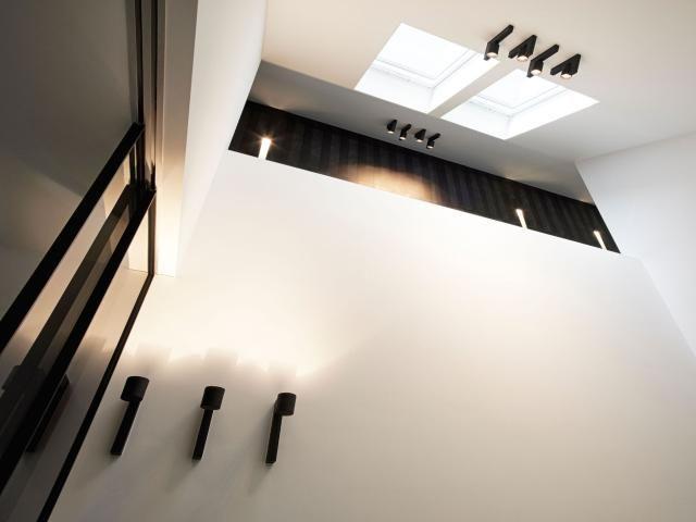 Vide In Hal : Modern u hal u wandverlichting u koepels u vide u architect jan de