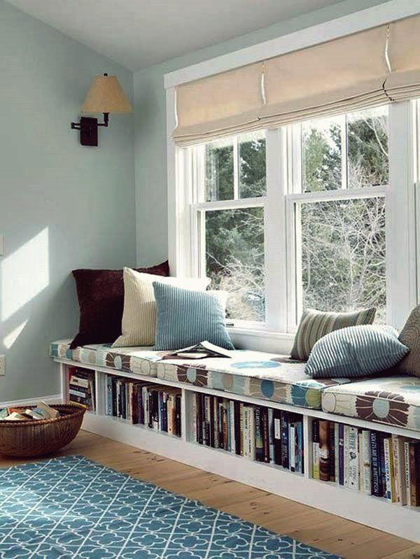 Uberall Zu Hause Konnen Sie Ein Bucherregal Aufstellen Fensterbank Innen Einbauen Haus Interieurs Fensterbank Innen